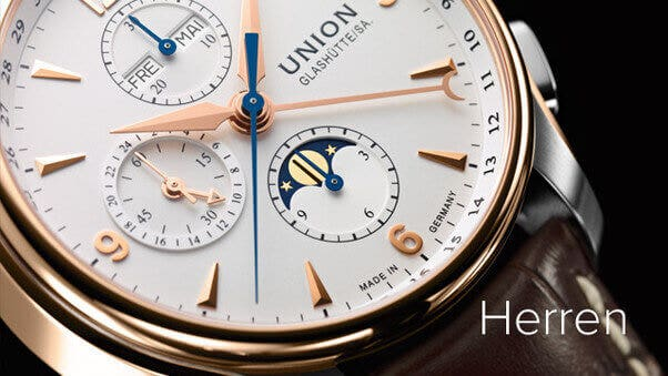 Alle Union Glashütte Herrenuhren