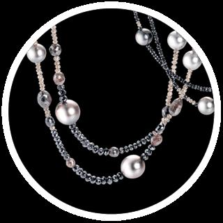 Ausgefallene Perlenketten