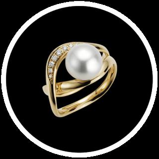 Ausgefallene Perlenringe