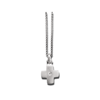 Bastian Anhänger Silber & Diamanten 10527