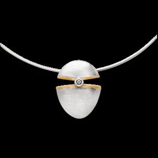 Bastian Anhänger Silber & Diamanten 10554