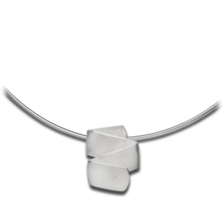 Bastian Anhänger Silber & Diamanten 12581