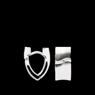 Bastian Creole Silber & Diamanten 10205