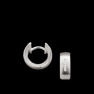 Bastian Creolen Silber und Diamanten BI26501