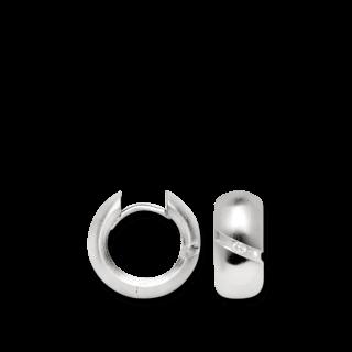 Bastian Creolen Silber und Diamanten BI26511
