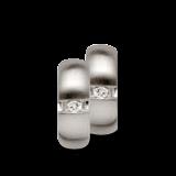 Bastian Creolen Silber und Diamanten BI26521