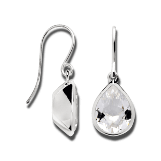 Bastian Ohrhänger Silber & Diamanten 12629