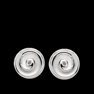 Bastian Ohrstecker Silber & Diamanten 10543