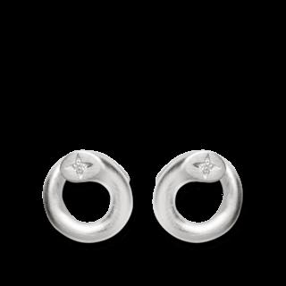 Bastian Ohrstecker Silber & Diamanten 11773