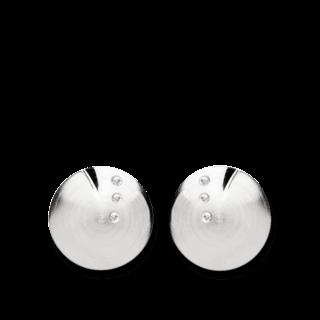 Bastian Ohrstecker Silber & Diamanten 11928