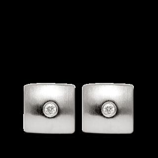 Bastian Ohrstecker Silber & Diamanten 1802221001
