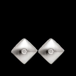 Bastian Ohrstecker Silber und Diamanten BI1802341001