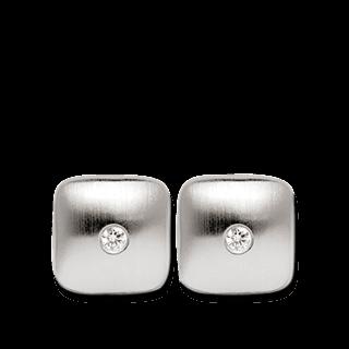 Bastian Ohrstecker Silber und Diamanten BI1802361001