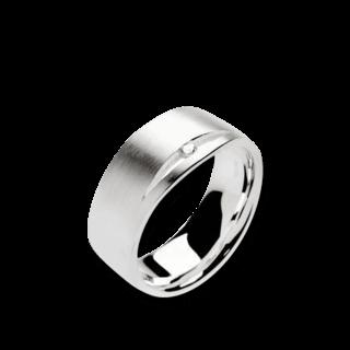 Bastian Ring Silber & Diamanten 10988-54