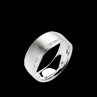 Bastian Ring Silber & Diamanten 10989