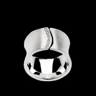 Bastian Ring Silber & Diamanten 10993-52