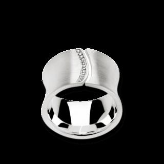 Bastian Ring Silber & Diamanten 10993