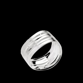 Bastian Ring Silber & Diamanten 10995
