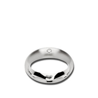 Bastian Ring Silber & Diamanten 11368-52