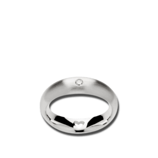 Bastian Ring Silber & Diamanten 11368