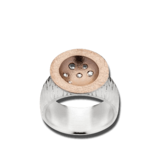 Bastian Ring Silber & Diamanten 12120