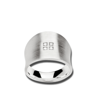 Bastian Ring Silber & Diamanten 12154