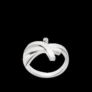Bastian Ring Silber & Diamanten 12286