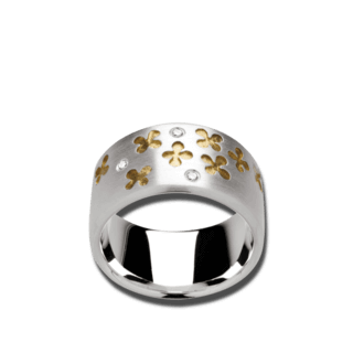 Bastian Ring Silber & Diamanten 9528