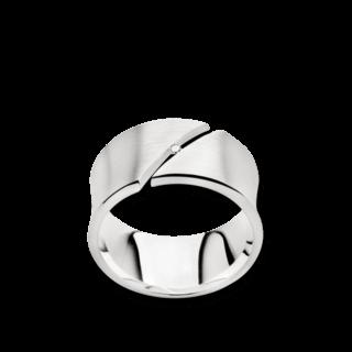 Bastian Ring Silber und Diamanten BI23161