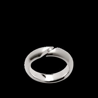 Bastian Ring Silber und Diamanten BI26531