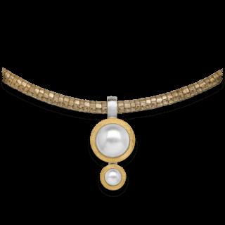 Bastian Anhänger Silber & Perlen 12596