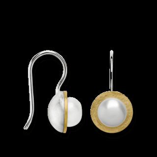 Bastian Ohrhänger Silber & Perlen 12598