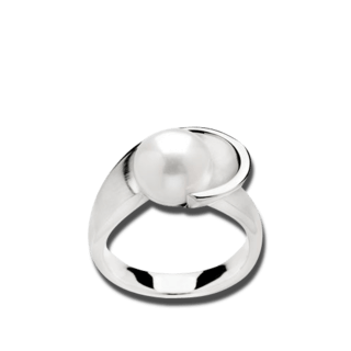 Bastian Ring Silber & Perlen 11710-54
