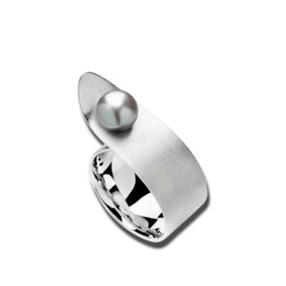 Bastian Ring Silber & Perlen 11940