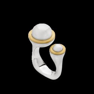 Bastian Ring Silber & Perlen 12597