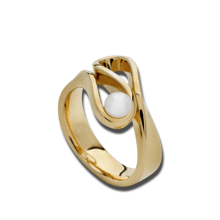 Bastian Ring Silber & Perlen 12601