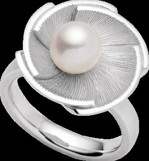 Ring Bastian Ring Sterlingsilber mit Imitationsperle