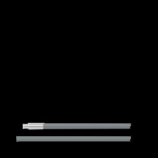 Bastian Halsband Lederband Sterlingsilber BI26850