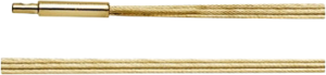 Halsreif Bastian Silberreif Sterlingsilber aus 925 18 Karat vergoldetes Silber