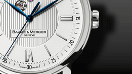 Baume & Mercier Classima Automatik 42mm Sichtfenster