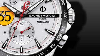 Baume & Mercier Clifton Club Indian Burt Munro Tribute