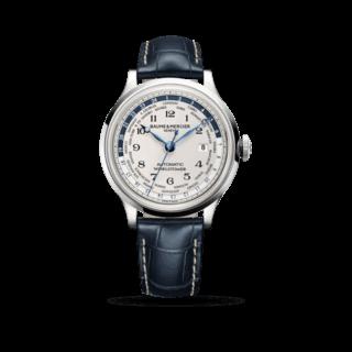 Baume & Mercier Herrenuhr Capeland Automatik Worldtimer 44mm 10106