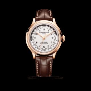 Baume & Mercier Herrenuhr Capeland Automatik Worldtimer 44mm 10107