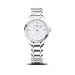 Baume & Mercier Damenuhr Classima Lady Quarz 31mm 10326