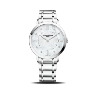 Baume & Mercier Damenuhr Lady Quarz 36,5mm 10225
