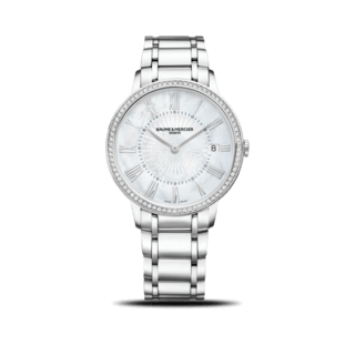 Baume & Mercier Damenuhr Lady Quarz 36,5mm 10227