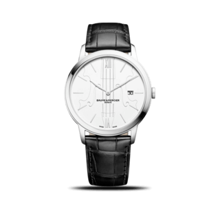 "Baume & Mercier Herrenuhr Classima Quarz ""Violon sur le sable"" 10383"