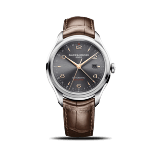 Baume & Mercier Herrenuhr Clifton Automatik Dual Time 43mm 10111