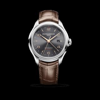 Baume & Mercier Herrenuhr Clifton Automatik Dual Time 43mm 10111