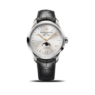 Baume & Mercier Herrenuhr Clifton Automatik Mondphase 43mm 10055